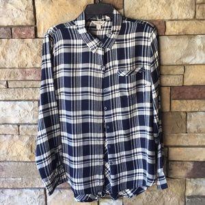 Lucky Brand button down tunic